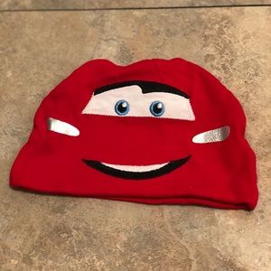 Disney Cars red toddler hat